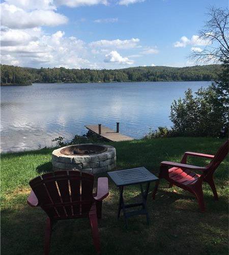 vue sur le lac, bord de l'eau