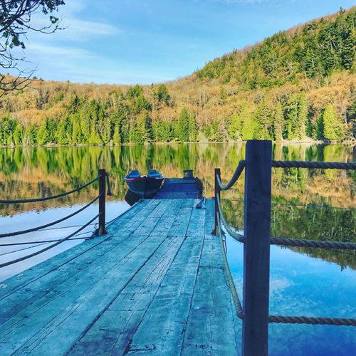 quai lac été