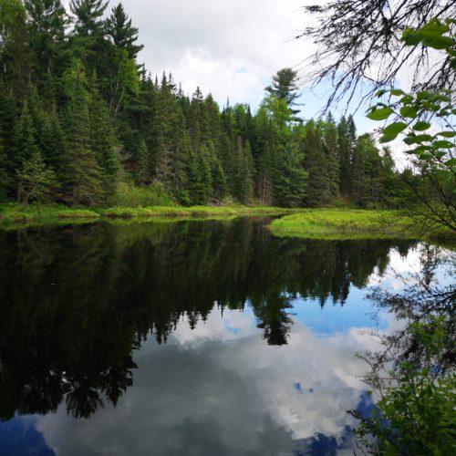 lac, randonnée