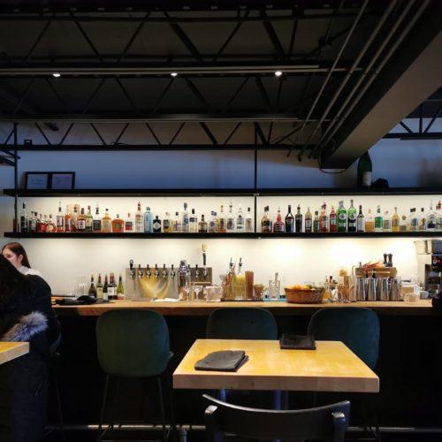 Vue de la section bar