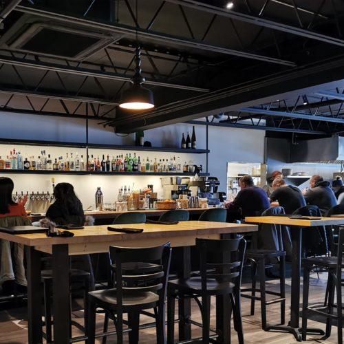 Vue restaurant et bar