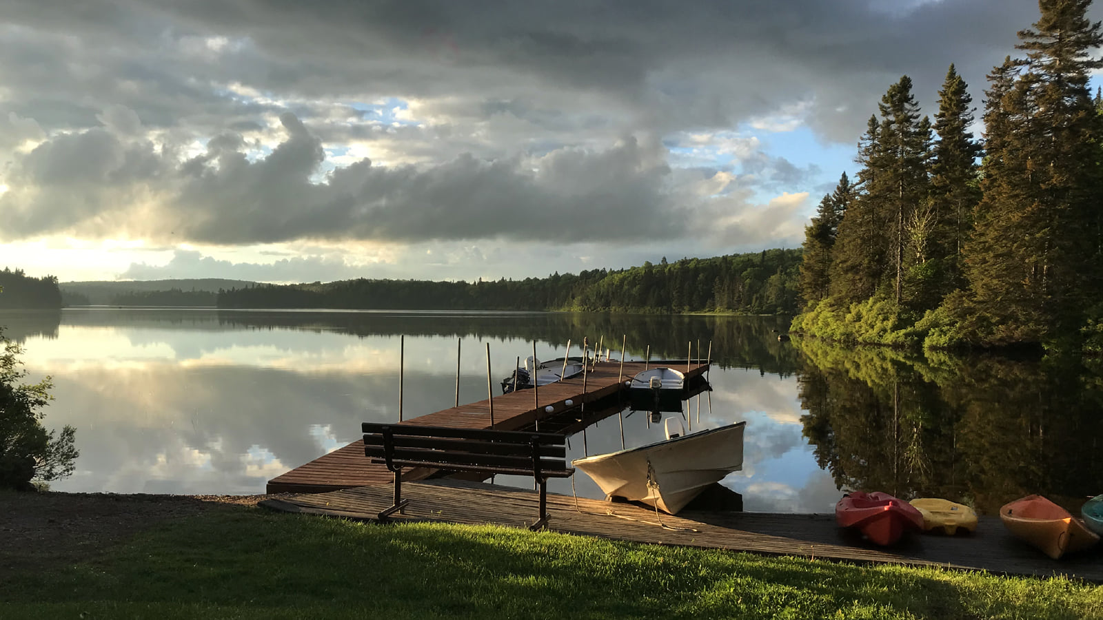 quai lac pourvoirie pêche