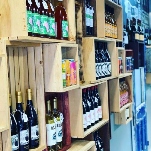 Mur à vin et boisson