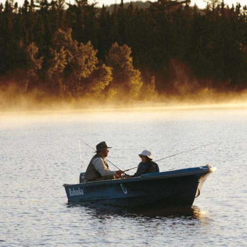 chaloupe pêche