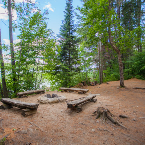 camping rustique parc régional