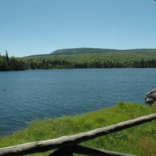 Bord de l'eau, vue sur le lac, chalet