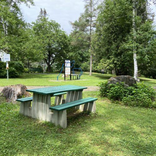 Table du parc