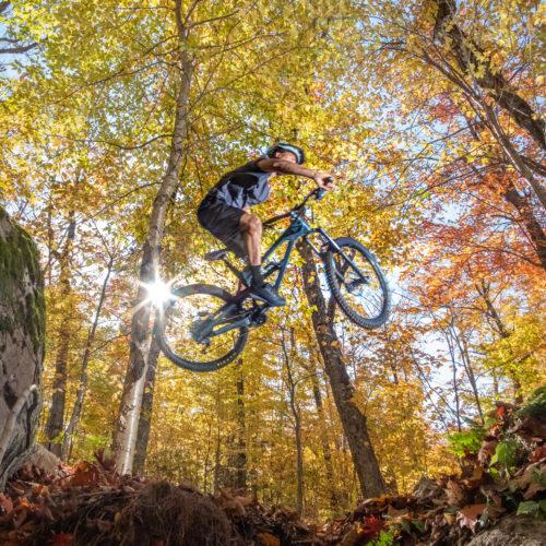 vélo montagne, parc régional