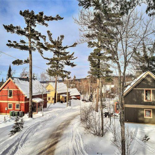 Village Windigo en hiver
