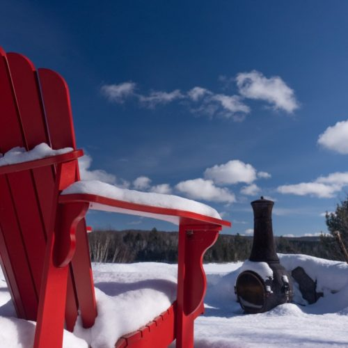 chaise hiver