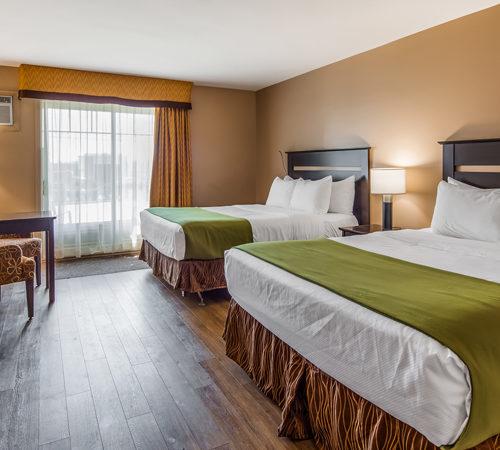 Chambre avec deux lits queen, hôtel
