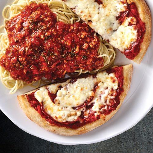pizza spaghetti, restaurant