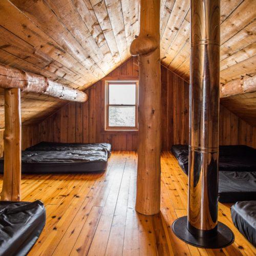 Chambre refuge en montagne