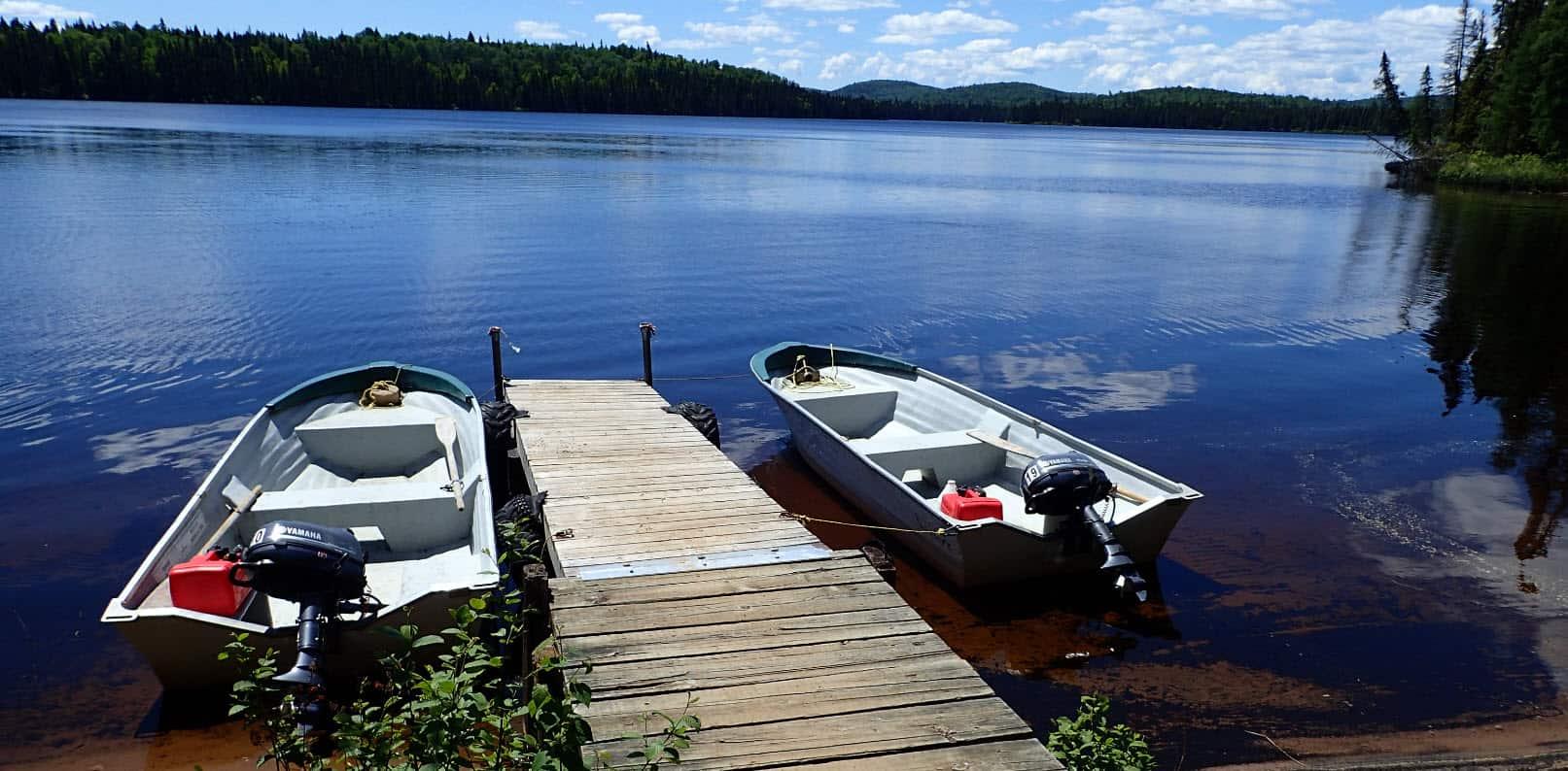 chaloupe lac