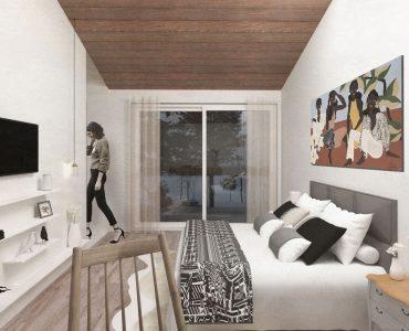Image vue intérieure de la chambre