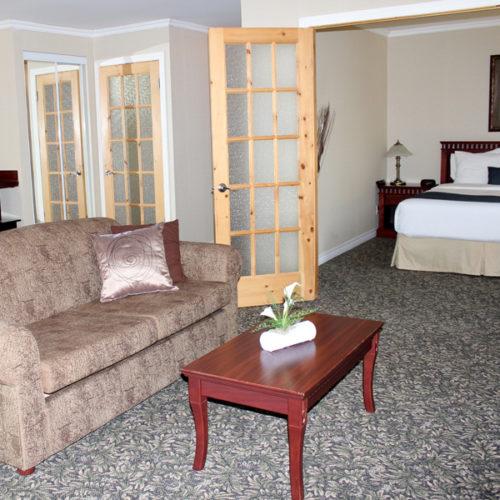 CHambre du type suite, hôtel