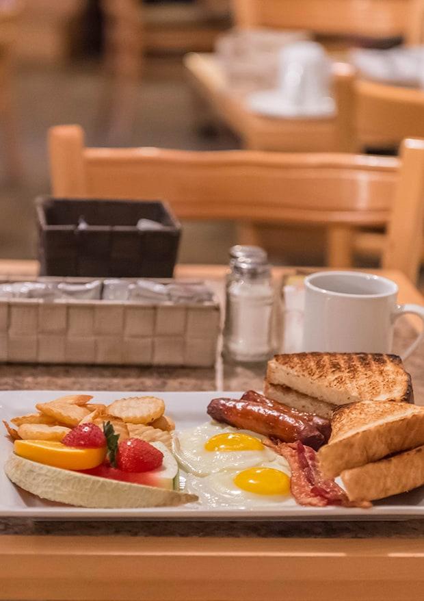 restaurant, menu déjeuner, hôtel